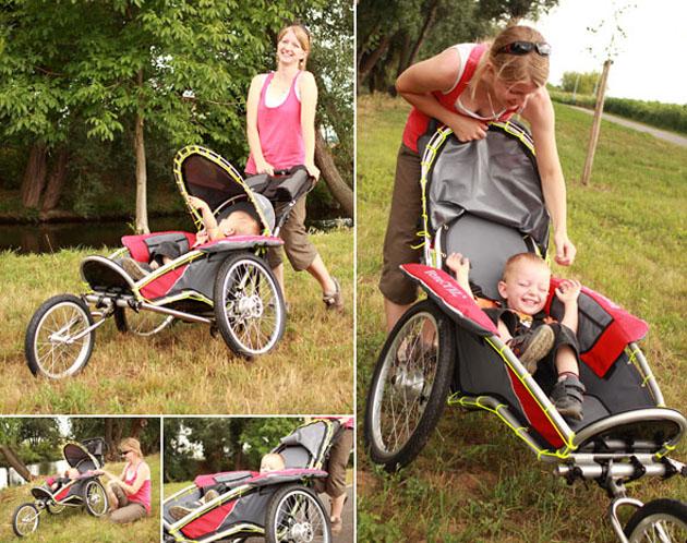 Benecykl Kindersportwagen Anhänger