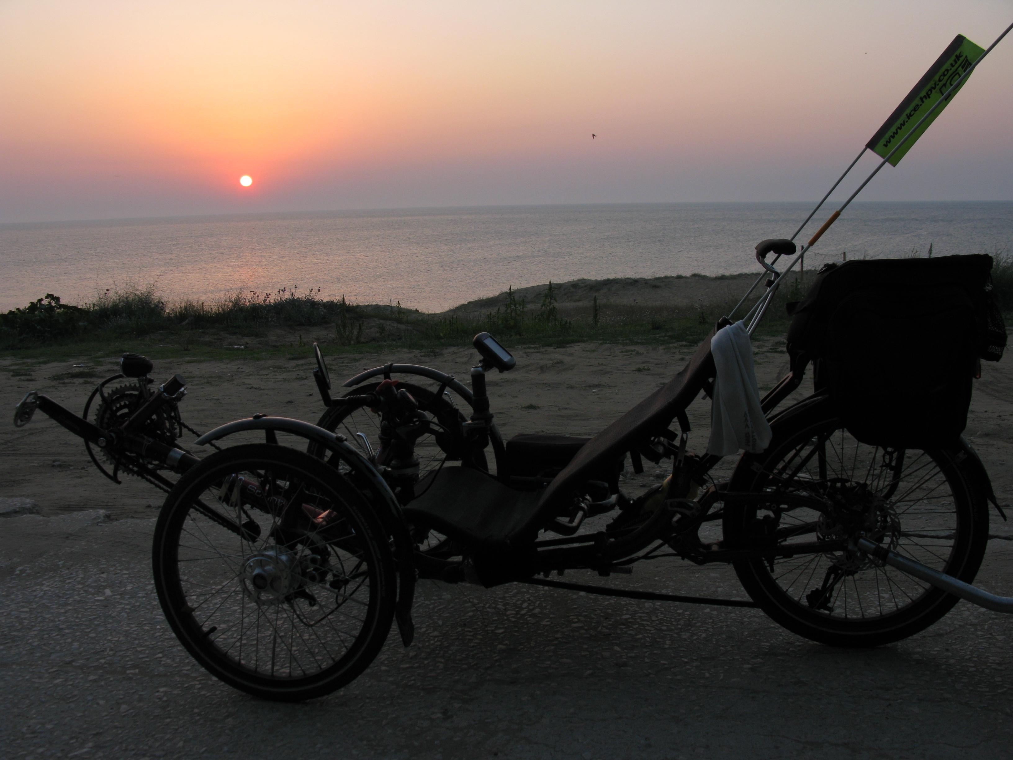 soncni vzhod nad Crnim morjem